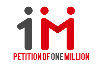 petition of one million logo